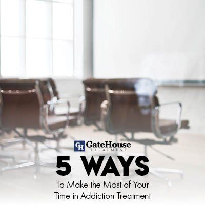 5 Ways to Make the Most of Your Time in Addiction Treatment 1