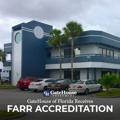 GateHouse Treatment of Florida Receives FARR Accreditation 1