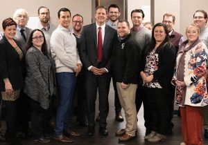 GateHouse staff with New Hampshire Governor Chris Sununu